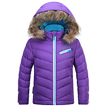 Buy Skogstad Girls' Down Quilted Jacket, Hot Purple Online at johnlewis.com