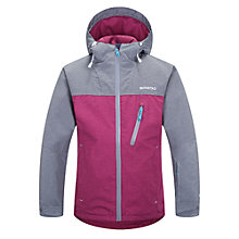 Buy Skogstad Girls' Hafjell Insulated Waterproof Jacket, Storm Grey/Pink Online at johnlewis.com