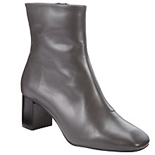 Buy Kin by John Lewis Pernille Block Heeled Ankle Boots, Grey Online at johnlewis.com