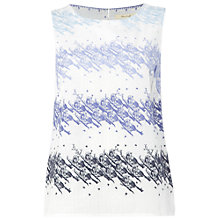 Buy White Stuff Tweeting Vest, Cornflower Blue Online at johnlewis.com