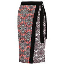 Buy Oasis Sintra Tile Wrap Skirt, Multi Online at johnlewis.com