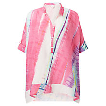 Buy East Abstract Handkerchief Top, Multi Online at johnlewis.com