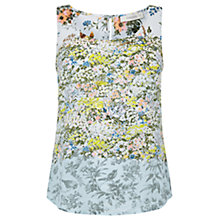 Buy Oasis Ombre Ditsy Floral Vest, Multi Online at johnlewis.com