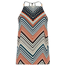 Buy Oasis Chevron Stripe Camisole Top, Multi Online at johnlewis.com