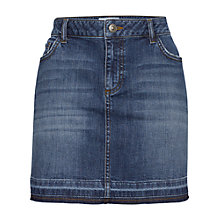 Buy Fat Face Danni Denim Mini Skirt, Blue Online at johnlewis.com