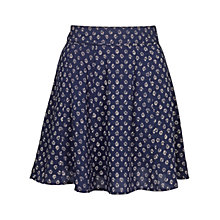 Buy Fat Face Audrey Batik Ditsy Skirt, Navy Online at johnlewis.com
