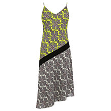 Buy Oasis Sintra Tile Midi Dress, Multi Online at johnlewis.com