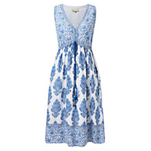 Buy East Sahara Print Sun Dress, White Online at johnlewis.com