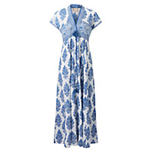 Buy East Sahara Print Maxi Dress, Blue Online at johnlewis.com