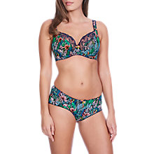 Buy Freya Willow Palm Plunge Underwired Bra, Multi Online at johnlewis.com