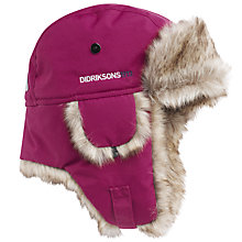Buy Didriksons Children's Helge Waterproof Trapper Hat Online at johnlewis.com