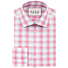 Buy Thomas Pink Baldwin Check Slim Fit Shirt Online at johnlewis.com
