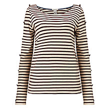 Buy Maison Scotch Long Sleeve Breton T-Shirt Online at johnlewis.com