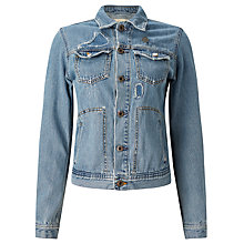 Buy Maison Scotch Trucker Jacket, Olga's Fav Vintage Online at johnlewis.com