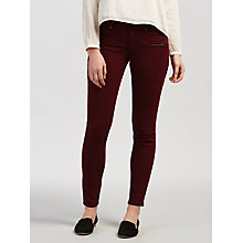 Buy Maison Scotch La Parisienne Mid Rise Skinny Jeans, Road Rush Online at johnlewis.com