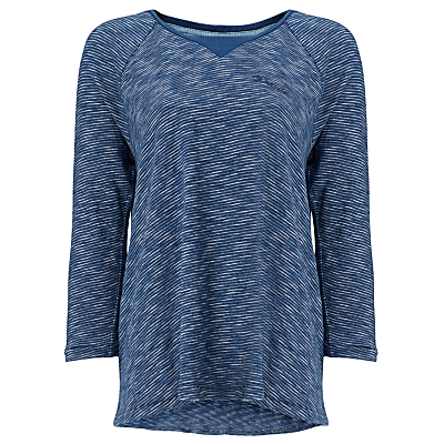 Maison Scotch A-Line Stripe Jersey Top, Indigo