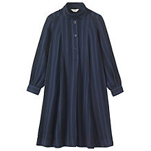 Buy Toast Leila Levantine Stripe Dress, Blue/Black Online at johnlewis.com