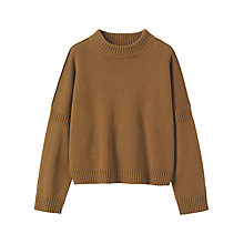 Buy Toast Wool Cotton Easy Jumper Online at johnlewis.com