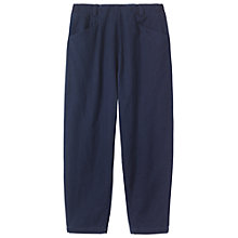 Buy Toast Alix Cotton Twill Trousers, Indigo Online at johnlewis.com