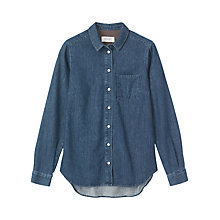 Buy Toast Denim Shirt, Indigo Online at johnlewis.com