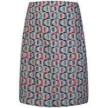 Buy Seasalt Portfolio Reversible A-Line Skirt, Two Forms Cloud Online at johnlewis.com