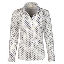 Buy Seasalt Larissa Shirt, Ditsy Anchor Salt Online at johnlewis.com