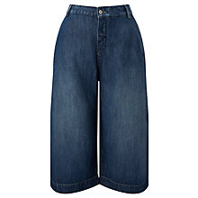 Buy Maison Scotch Denim Culottes, Indigo Online at johnlewis.com