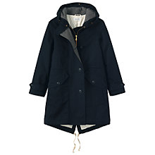 Buy Toast Water Resistant Winter Parka, Navy Online at johnlewis.com