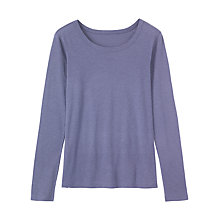 Buy Toast Long Sleeve Fine Slubby Cotton T-Shirt Online at johnlewis.com