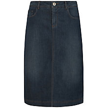 Buy Seasalt Pordenack Point Skirt, Denim Online at johnlewis.com