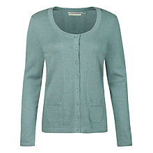 Buy Seasalt Teasel Cardigan, Watercress Online at johnlewis.com