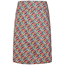Buy Seasalt Portfolio Reversible A-Line Skirt, Zinnia Flower Cobble Online at johnlewis.com