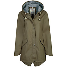 Buy Seasalt RAIN® Collection Bowsprit Waterproof Coat, Bramble Online at johnlewis.com