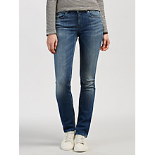 Buy Maison Scotch Supreme Mid Rise Straight Jeans, Head & Hooks Online at johnlewis.com
