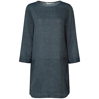 Seasalt Alex Tor Tunic Dress, Dark Indigo