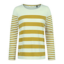 Buy Seasalt Craft Stripe Top, Tippet Sandstone Online at johnlewis.com