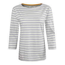 Buy Seasalt Sailor Jersey Top, Breton Fishscale Ecru Online at johnlewis.com