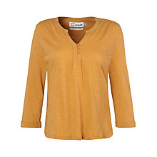 Buy Seasalt Trelill Grandad Top, Sandstone Online at johnlewis.com