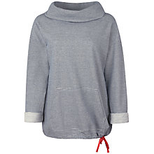 Buy Seasalt Goldarras Thin Stripe Sweatshirt, Kernewek Marine Online at johnlewis.com
