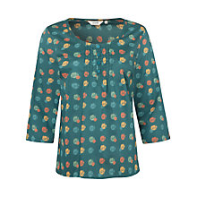 Buy Seasalt Pendower Cove Top, Scratch Spot Deep Sea Online at johnlewis.com