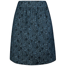 Buy Seasalt Propagate Chambray Skirt, Crabapple Indigo Online at johnlewis.com
