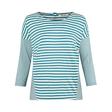 Buy Seasalt Trevigo Stripe Top, Tregellist Stripe Poseidon Online at johnlewis.com