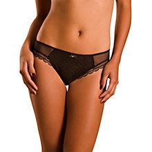 Buy Chantelle C Chic Sexy Brazilian Briefs, Black Online at johnlewis.com
