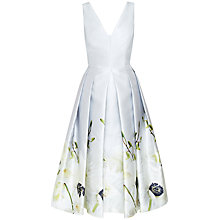 Buy Ted Baker Pearly Petals Ballerina Dress, Ash Online at johnlewis.com
