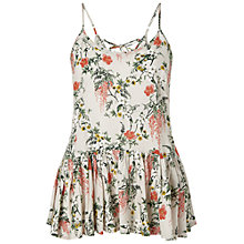 Buy Miss Selfridge Lace Up Back Cami Top, Multi Online at johnlewis.com