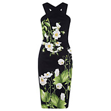 Buy Oasis Chelsea Physic Dove House Pencil Dress, Multi Online at johnlewis.com