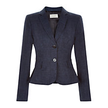 Buy Hobbs Indie Jacket, Navy Online at johnlewis.com
