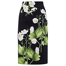 Buy Oasis Chelsea Physic Dove House Pencil Skirt, Multi Online at johnlewis.com
