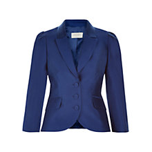 Buy Hobbs Isabella Jacket, Royal Blue Online at johnlewis.com