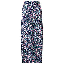 Buy Miss Selfridge Petite Ditsy Maxi Skirt, Mid Blue Online at johnlewis.com